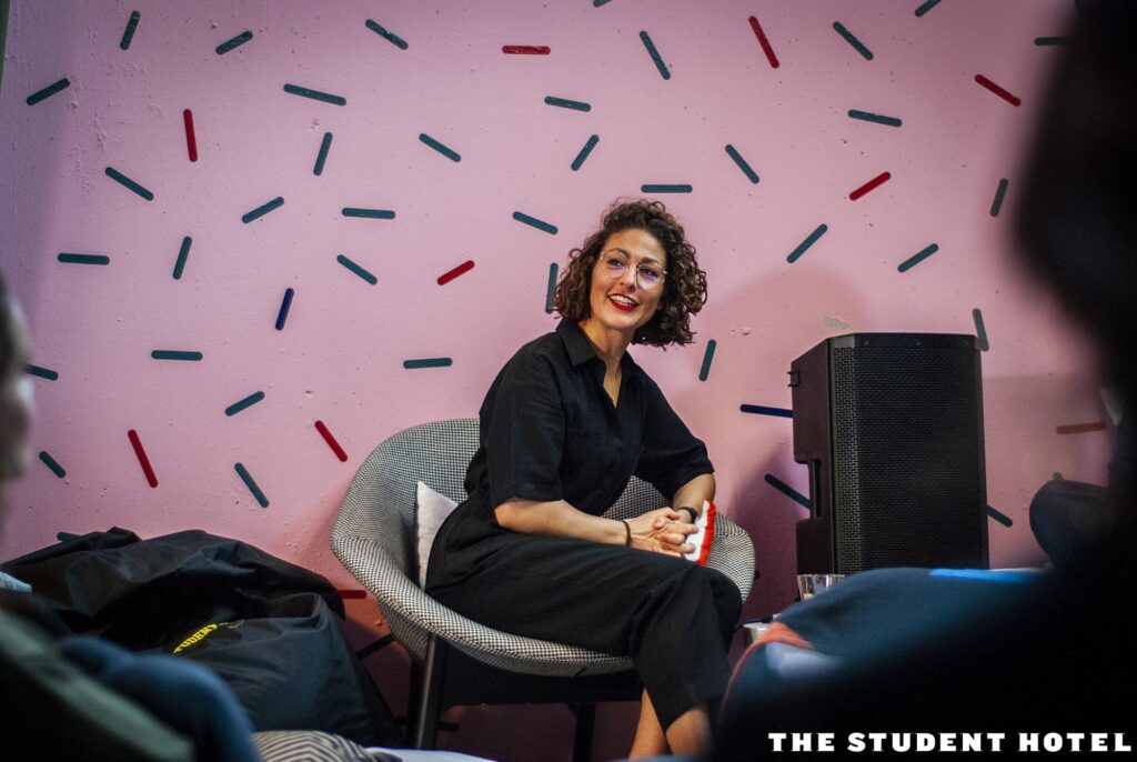 Amber Westenborg: Impact Manager of The Student Hotel